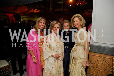 Isabel Ernst,Jacqueline Mars,Wilhemina Hollladay,Bonnie McElveen-Hunter,April 27,2012,National Museum of Women in the Arts 25th Anniversary Gala.Kyle Samperton
