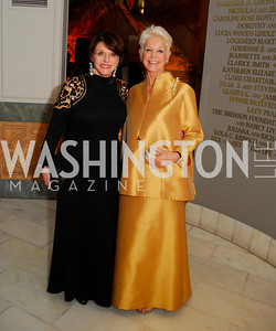 Marlene Malek,Gina Porten,April 27,2012,National Museum of Women in the Arts 25th Anniversary Gala.Kyle Samperton