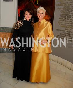 Marlene Malek,Gina Porten,April 27,2012,National Museum of Women in the Arts 25th Anniversary Gala.Kyle Samperton