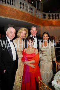 William Gordon,Bonnie McElveen-Hunteer,Isabel Allende,Amb.Felipe Bulnes,Monica Pellegrini,,April 27,2012,National Museum of Women in the Arts 25th Anniversary Gala.Kyle Samperton