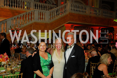 Toni Verstanding,Martha Dippell,James Rosebush,April 27,2012,National Museum of Women in the Arts 25th Anniversary Gala.Kyle Samperton