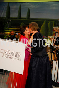 Isabel Allende,Wilhemina Holladay,,April 27,2012,National Museum of Women in the Arts 25th Anniversary Gala.Kyle Samperton