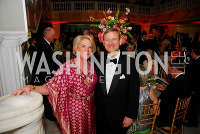 Britain Bardess,Chief Justice John  Roberts,April 27,2012,National Museum of Women in the Arts 25th Anniversary Gala.Kyle Samperton