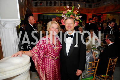 Britain Bardess,Chief Justice John  Roberts,April 27,2012,National Museum of Women in the Arts 25th Anniversary Gala.Kyle Samperton