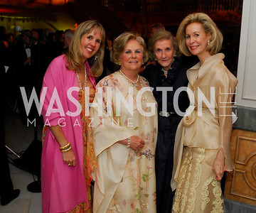 Isabel Ernst,Jacqueline Mars,Wilhemina Hollladay,Bonnie McElveen-Hunter,April 27,2012,National Museum of Women in the Arts 25th Anniversary Gala.Kyle Samperton