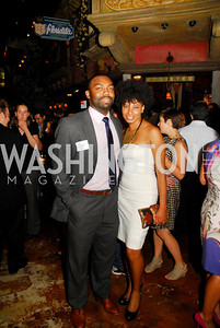 Luke Tillman,Darmara Cartlett,July 18,2012,The Raben Group Ten Year Celebration at  Cuba Libre,Kyle Samperton