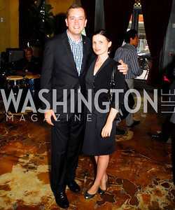 Kevin Walling,Julia Bremner,July 18,2012,The Raben Group Ten Year Celebration at  Cuba Libre,Kyle Samperton