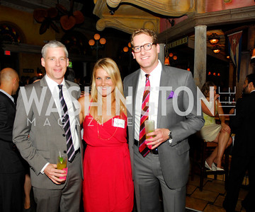Dan Pechina,Lizzie Ulmer,Don Hoppert,July 18,2012,The Raben Group Ten Year Celebration at