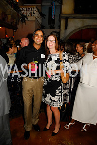 Ravi Sawhney.Laura Alexander,July 18,2012,The Raben Group Ten Year Celebration at  Cuba Libre,Kyle Samperton