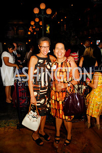 Ellen Williams,Toni Bush,July 18,2012,The Raben Group Ten Year Celebration at  Cuba Libre,Kyle Samperton