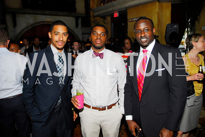 Broderick Johnson,Eric Jackson,David Murimi,July 18,2012,The Raben Group Ten Year Celebration at  Cuba Libre,Kyle Samperton