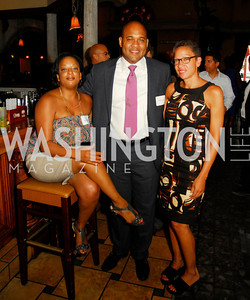 Alaina Beverly,Justin Gray,Ellen Williams,July 18,2012,The Raben Group Ten Year Celebration at  Cuba Libre,Kyle Samperton