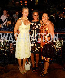 Sharon Malone,Ellen Williams,Toni Bush,July 18,2012,The Raben Group Ten Year Celebration at  Cuba Libre,Kyle Samperton