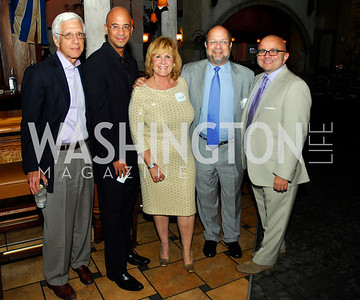Joe Onek,Stephen Simon,Suzanne Stull,Joel Packer,Larry Gonzalez,,July 18,2012,The Raben Group Ten Year Celebration at  Cuba Libre,Kyle Samperton