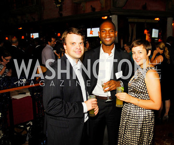 Jonathan Kent,Donald Gatin,Emily Napalo,July 18,2012,The Raben Group Ten Year Celebration at  Cuba Libre,Kyle Samperton