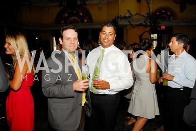 John Laughner,Scott Thomas,July 18,2012,The Raban Group Ten Year Celebration at  Cuba Libre,Kyle e