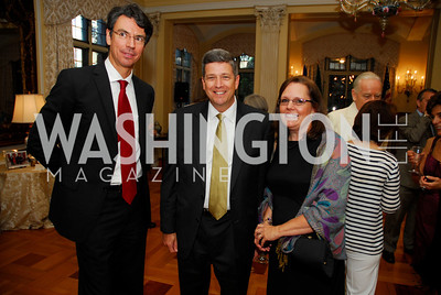 Lorenzo Galenti, John Porcari, Heidi Porcari, J uly 11,2012, Reception for the Italian-American  Congressional Delegation of the 112th U.S. Congress at Villa Firenze, Kyle Samperton