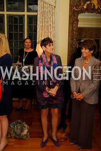 Rep. Rosa DeLauro, Rep. Anna Eshoo, July 11,2012, Reception for the Italian-American Congressional Delegation of the 112th U.S. Congress at Villa Firenze, Kyle Samperton