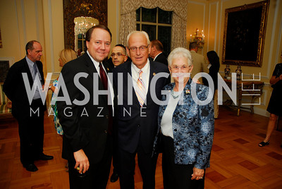 Rep. Patrick Tiberi, Rep. Bill Pascrell, Rep. Virginia Foxx, July 11,2012, Reception for the Italian-American  Congressional Delegation of the 112th U.S. Congress at Villa Firenze, Kyle Samperton