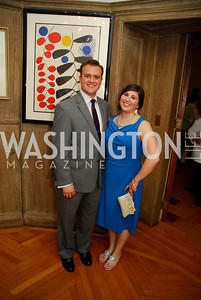 Joe Maiellano, Sarah Maiellano, July 11,2012, Reception for the Italian-American Congressional Delegation of the 112th U.S. Congress at Villa Firenze, Kyle Samperton
