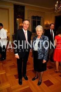 Amb Claudio Bisogniero, Rep.Virginia Foxx, July 11,2012, Reception for the Italian-American  Congressional Delegation of the 112th U.S. Congress at Villa Firenze, Kyle Samperton