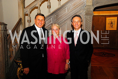 Rep. John Mica, Pat Mica, Amb. Claudio Bisogniero, July 11,2012, Reception for the Italian-American Congressional Delegation of the 112th U.S. Congress at Villa Firenze, Kyle Samperton