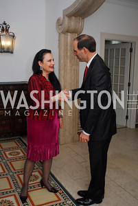 Rhoda Septilici,Whitney DeBevoise,May 14,2012,Reception at the Residence of the Portugese Ambassador for a  Performance of Fado Music,Kyle Samperton