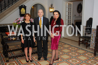 Rosa Batoreau,Robert Gair,Rhoda Septilici,May 14,2012,Reception at the Residence of the Portugese Ambassador for a  Perfornmance of Fado Music,Kyle Samperton