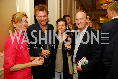 "Mary Jordan, Greg Jordan, Alicia Jordan,,Kevin Sulliivan, Reception for ""A Good Man"" by Mark Shriver at the Jefferson Hotel, June 6, 2012, Kyle Samperton"