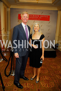 "Fred Ryan, Susan Axelrod, Reception for ""A Good Man"" by Mark Shriver at the Jefferson Hotel, June 6, 2012, Kyle Samperton"