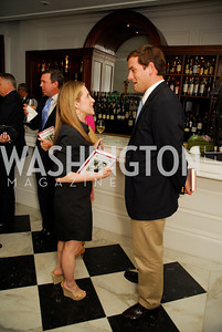 "Jessica Yellin, Luke Russert, Reception for ""A Good Man"" by Mark Shriver at the Jefferson Hotel, June 6, 2012, Kyle Samperton"