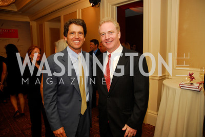 "Mark Shriver, Rep. Chris Van Hollen, Reception for ""A Good Man"" by Mark Shriver at the Jefferson Hotel, June 6, 2012, Kyle Samperton"