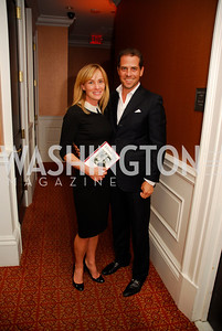 "Kathleen Biden, Hunter Biden, Reception for ""A Good Man"" by Mark Shriver at the Jefferson Hotel, June 6, 2012, Kyle Samperton"