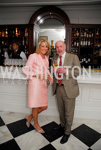 "Elizabeth Bagley, Bob Burkett, Reception for ""A Good Man"" by Mark Shriver at the Jefferson Hotel, June 6, 2012, Kyle Samperton"