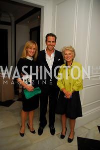 "Kathleen Biden, Hunter Biden, Jane Harmon, Reception for ""A Good Man"" by Mark Shriver at the Jefferson Hotel, June 6, 2012, Kyle Samperton"