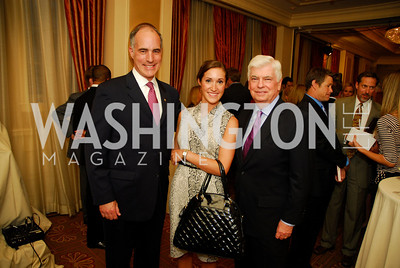 "Bob Casey, Elyse Casey, Chris Dodd, Reception for ""A Good Man"" by Mark Shriver at the Jefferson Hotel, June 6, 2012, Kyle Samperton"