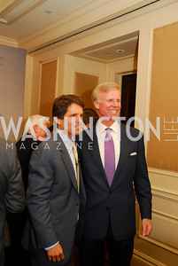 "Mark Shriver, Fred Ryan, Reception for ""A Good Man"" by Mark Shriver at the Jefferson Hotel, June 6, 2012, Kyle Samperton"
