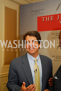 "Mark Shriver, Reception for ""A Good Man"" by Mark Shriver at the Jefferson Hotel, June 6, 2012, Kyle Samperton"