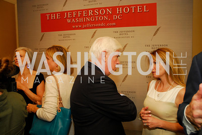 "Chris Dodd, Jeanne Shriver, Reception for ""A Good Man"" by Mark Shriver at the Jefferson Hotel, June 6, 2012, Kyle Samperton"