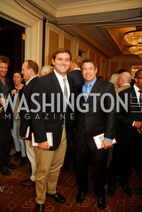 "Luke Russert, Steve Chenevey, Reception for ""A Good Man"" by Mark Shriver at the Jefferson Hotel, June 6, 2012, Kyle Samperton"