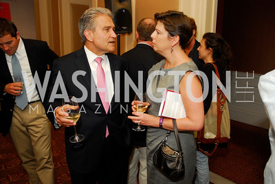 "Peter Kadzik, Amy Weiss, Reception for ""A Good Man"" by Mark Shriver at the Jefferson Hotel, June 6, 2012, Kyle Samperton"