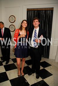 """Krystal Bonner, Peter Fulham, Reception for """"A Good Man"""" by Mark Shriver at the Jefferson Hotel, June 6, 2012, Kyle Samperton"""
