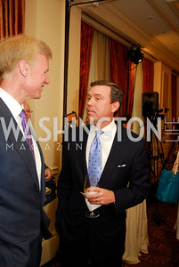 "Fred Ryan, Geoff Morrell, Reception for ""A Good Man"" by Mark Shriver at the Jefferson Hotel, June 6, 2012, Kyle Samperton"