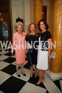 Anne Nitze,Lea Berman,Beth Dozoretz,April 11,2012,Reception for Dame Jillian Sackler at The Residence of the British Ambassador,Kyle Samperton