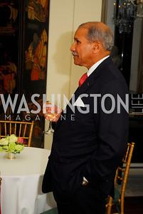 Togo West,April 11,2012,Reception for Dame Jillian Sackler at The Residence of the British Ambassador,Kyle Samperton