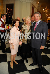 Lady Westmacott,Willee Lewis,Sir Peter WestmacottApril 11,2012,Reception for Dame Jillian Sackler at The Residence of the British Ambassador,Kyle Samperton