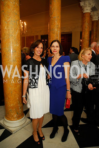 Beth Dozoretz,Ludmilla Cafritz,April 11,2012,Reception for Dame Jillian Sackler at The Residence of the British Ambassador,Kyle Samperton