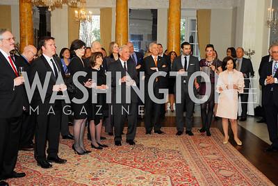 Reception for Dame Jillian Sackler at The Residence of the British Ambassador,April 11,2012,Kyle Samperton