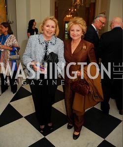 Gilan Corn,Mary Mochary,April 11,2012,Reception for Dame Jillian Sackler at The Residence of the British Ambassador,Kyle Samperton