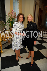 Dianne Morris,Susan Pillsbury,April 11,2012,Reception for Dame Jillian Sackler at The Residence of the British Ambassador,Kyle Samperton